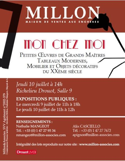 MON CHEZ MOI XXème - TABLEAUX MODERNES