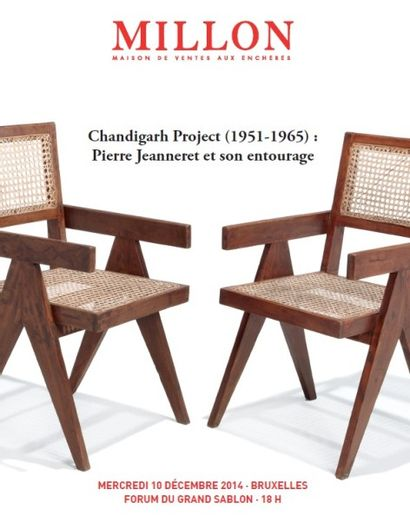 CHANDIGARH PROJET (1951 - 1965) - PIERRE JEANNERET ET SON ENTOURAGE