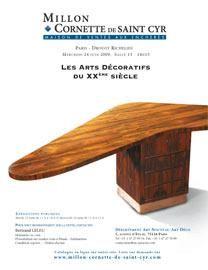 ARTS DECORATIFS DU XXÈME SIÈCLE