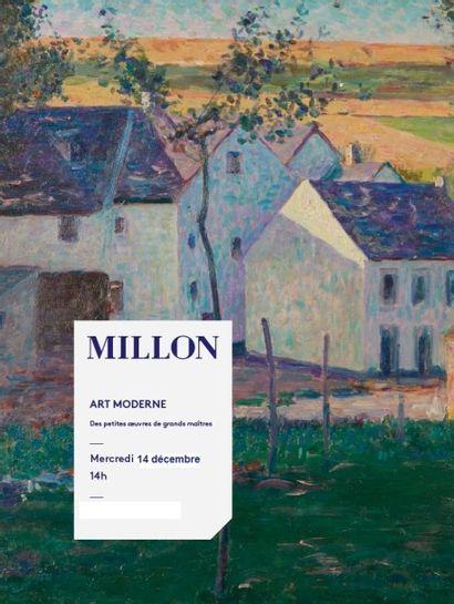 ART MODERNE & CONTEMPORAIN<br> De petites œuvres de grands maîtres