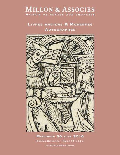 AUTOGRAPHES - LIVRES ANCIENS - LIVRES ILLUSTRÉS