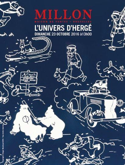 L'UNIVERS D'HERGE <br> Bruxelles