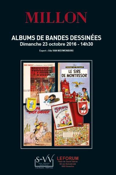 ALBUMS DE BANDES DESSINÉES  <br> Bruxelles