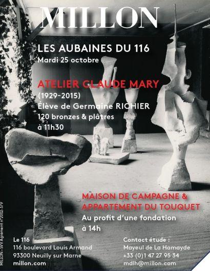 CLAUDE MARY (1971-1991)<br>Plâtres & Bronze