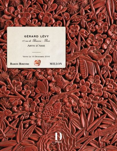 GERARD LEVY <br>Art d'Asie<br><br>PARTIE III<br>Chine & Tibet<br>Lot 333 à 449<br>