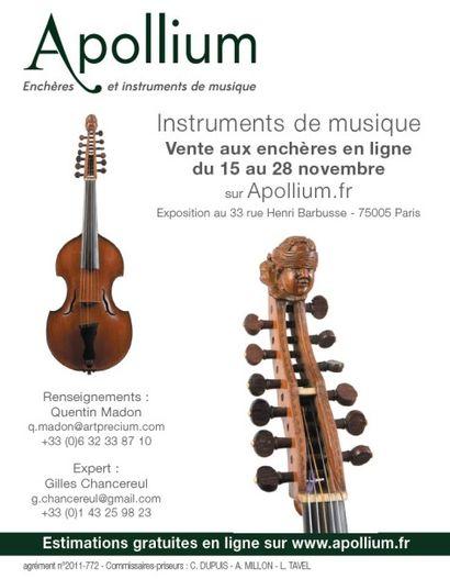 INSTRUMENTS DU QUATUOR<br><br>Vente online sur Apollium.fr