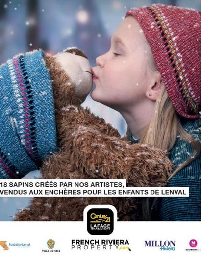 VENTE CARITATIVE - DES SAPINS D'ARTISTES POUR NOEL