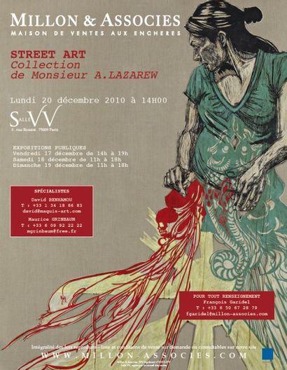 STREET ART - Vente annulée