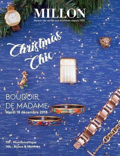 CHRISTMAS CHIC Boudoir de Madame ventes à 11h & 14h