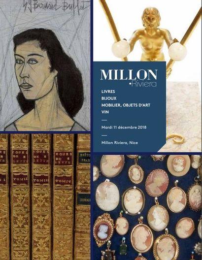 PROPRIÉTÉS et COLLECTIONS NIÇOISES Livres, bijoux, Mobilier et objets d'Art, vins