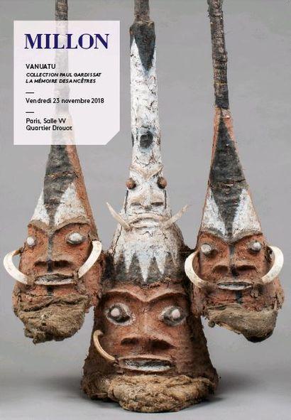 VANUATU Collection Paul Gardissat  La mémoire des ancêtres