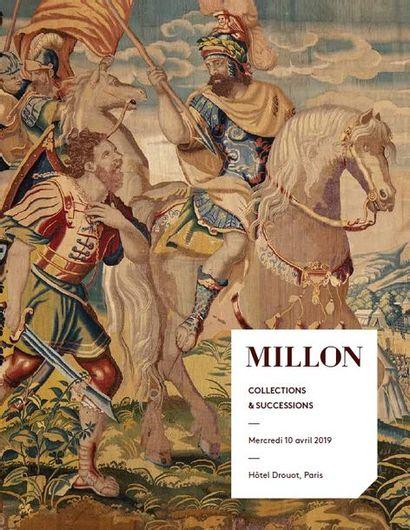 COLLECTIONS & SUCCESSIONS - dont partie du mobilier garnissant le Château de Melle M., propriété Angevine