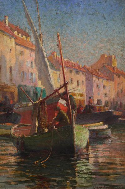 Propriétés niçoises FOND D'ATELIER LOUIS LAMONTAGNE (1874-1918) duplex paris nice