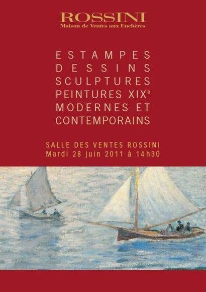 Tableaux Modernes et Sculptures - vente Live
