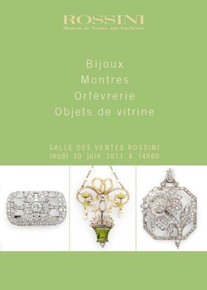 Bijoux, Montres, Objets de vitrine, Orfèvrerie - Vente Live