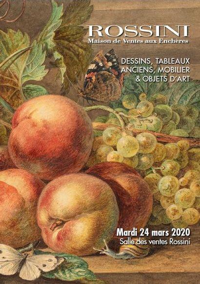 Vente Dessins, Tableaux anciens, Mobilier & Objets d'art