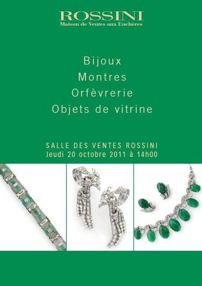 Bijoux, Montres, Argenterie, Objets de vitrine - VENTE SUR ROSSINI LIVE