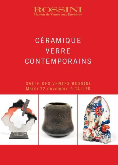 CÉRAMIQUE VERRE CONTEMPORAINS - ROSSINI LIVE