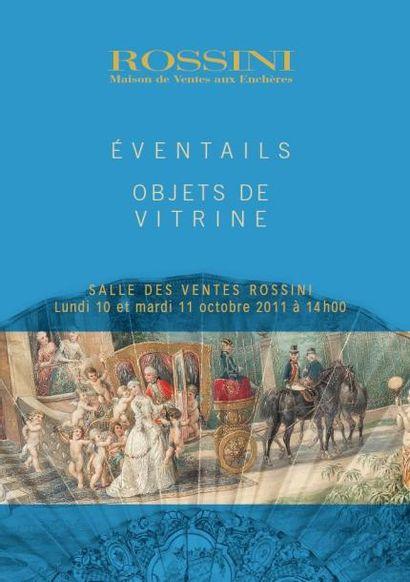 OBJETS DE VITRINE - VENTE SUR ROSSINI LIVE