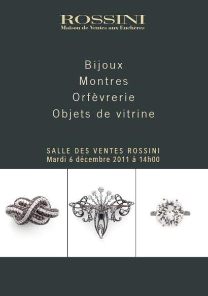 Bijoux, Montres, Orfèvrerie, Objets de vitrine