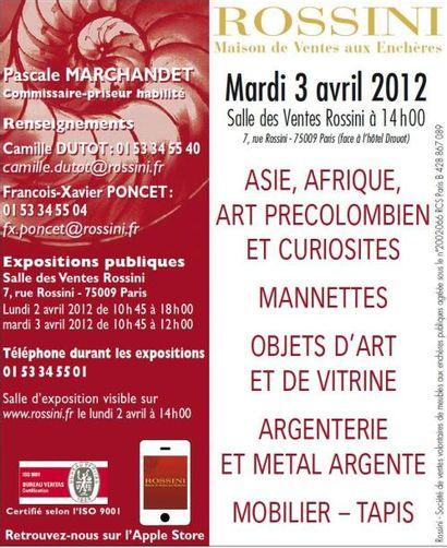Mobilier-Objets d'Art - Asie - Afrique - Art précolombien - Curiosité