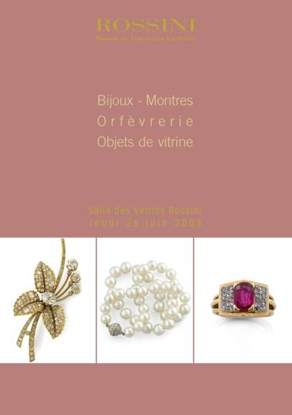 Bijoux, Objets de vitrine, Montres, Orfèvrerie