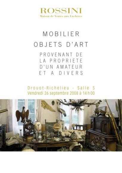 Mobilier-Objet d'Art