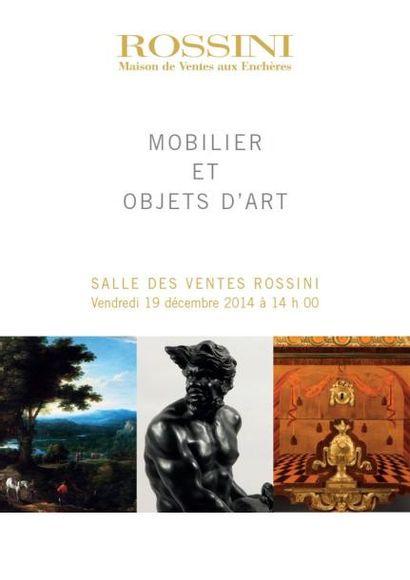 Mobilier-Objets d'Art et Tableaux Anciens