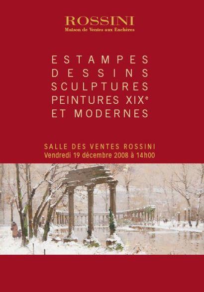 ESTAMPES - DESSINS - SCULPTURES - PEINTURES XIXe ET MODERNES
