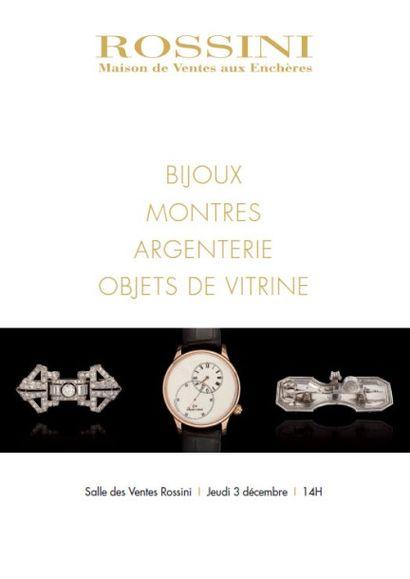 Bijoux, Montres, Argenterie et Objets de Vitrine