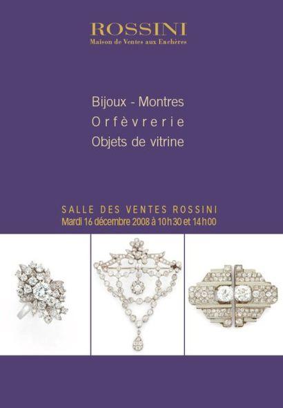 Bijoux, Montres,Objets de vitrine, Orfèvrerie, à 10h30 et 14h00