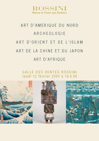 ART D'AMERIQUE DU NORD,POUPEE KACHINA, ARCHEOLOGIE,ART D'ORIENT ET DE L'ISLAM, ART DE LA CHINE ET DU
