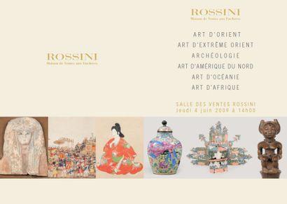 ART D'ORIENT, ART D'EXTREME ORIENT, ARCHEOLOGIE, ART D'AMERIQUE DU NORD, ART D'AFRIQUE, ART D'OCEANI