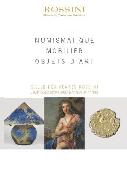 ART DU XXème SIECLE ET MOBILIER-OBJETS D'ART