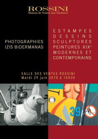 VENTE DE PHOTOGRAPHIES ET TABLEAUX MODERNES - Vente Live