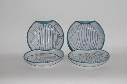 Céramiques et verreries vintage, des années 50 aux années 80