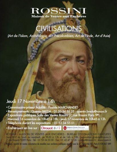 Civilisation - Art de l'Islam, Archéologie, Art Précolombien, Art de l'Inde, Art d'Asie