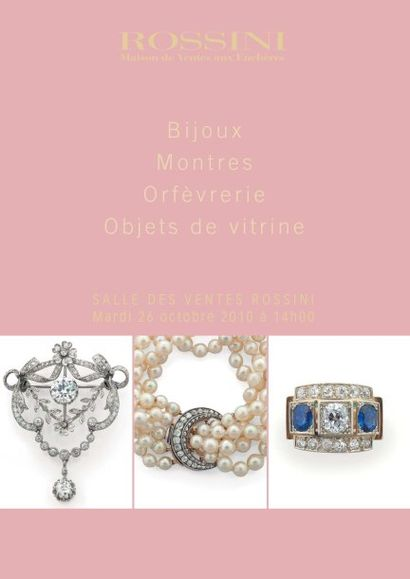 Bijoux, Montres, Argenterie, Objets de vitrine - Vente LIVE