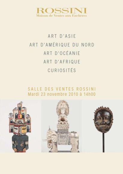 Art d'Asie - Art d'Amérique du Nord - Art d'Océanie - Art d'Afrique - Curiosités - Vente Live