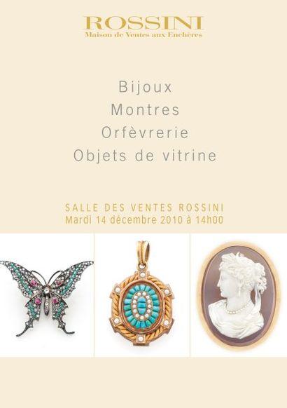 Bijoux, Montres, Orfèvrerie et Objets de Vitrine - Vente Live