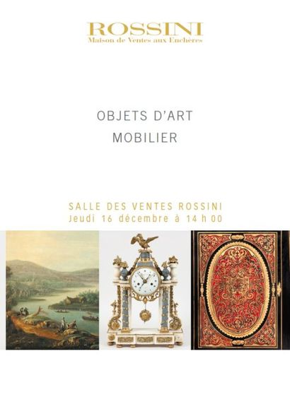 Mobilier - Objets d'Art - Art du XXe siècle - Vente LIVE
