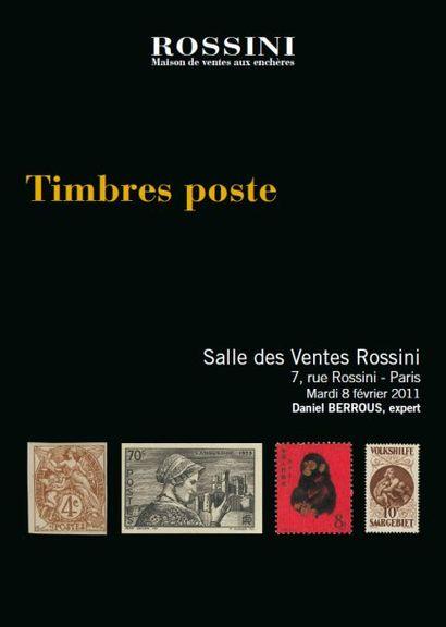 Timbres Poste et Cartes Postales