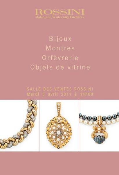 Bijoux - Montres - Orfèvrerie et Objets de Vitrine - Vente LIVE