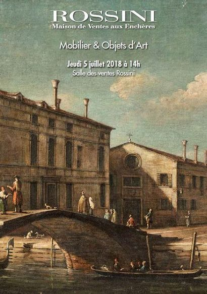 Vente cataloguée Mobilier & Objets d'Art