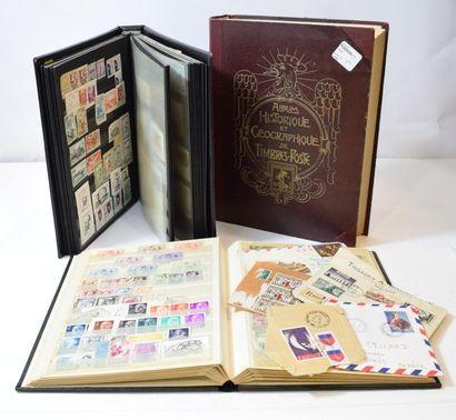 Cartes postales anciennes : illustrateurs, régionalisme - Philatélie : épreuves, timbres (dont TAAF, coins datés, aérophilatélie)