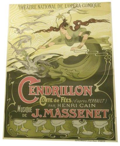 AFFICHES DES XIXème au XXème : publicitaires, politiques, syndicales et de spectacles (opéra et théâtre de boulevard)