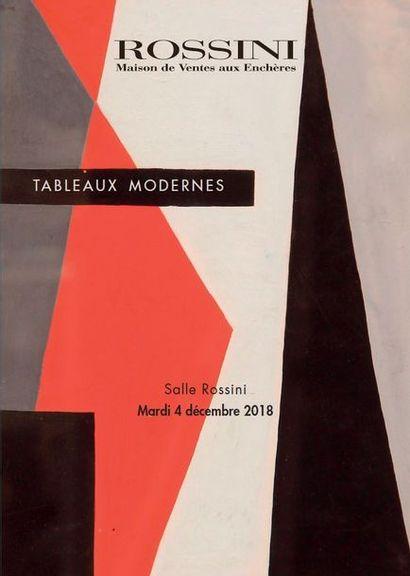 Vente de Tableaux et sculptures XIXe, modernes et contemporains