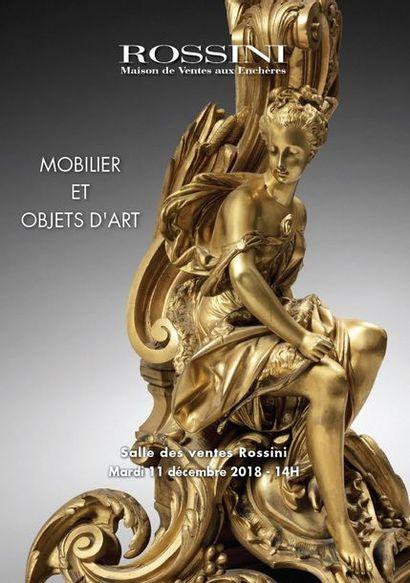 Vente cataloguée Tableaux anciens, Mobilier, Objets d'Art & Civilisations