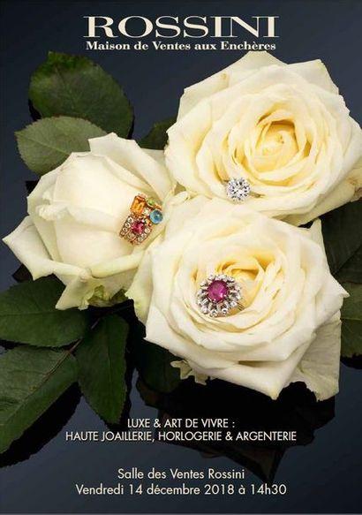 Vente Luxe & Art de vivre : Haute Joaillerie, Horlogerie & Argenterie