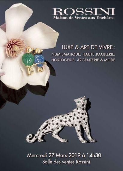 Vente Luxe & Art de vivre : Haute Joaillerie, Horlogerie, Argenterie & Mode